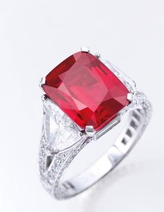 8.62 carat Mogok Burmese Ruby and Diamond Ring.jpg