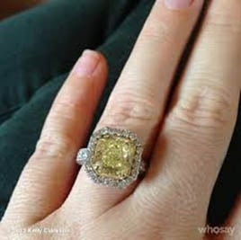 kelly clarkson engagement ring