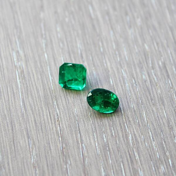 emeralds green May birthstone