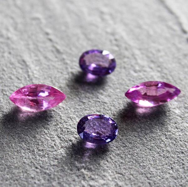 fancy coloured sapphires 1