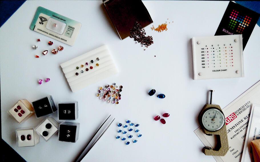 jewellers desk