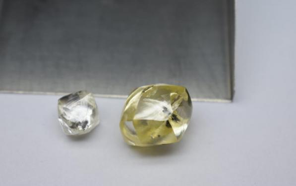 yellow diamond lucapa