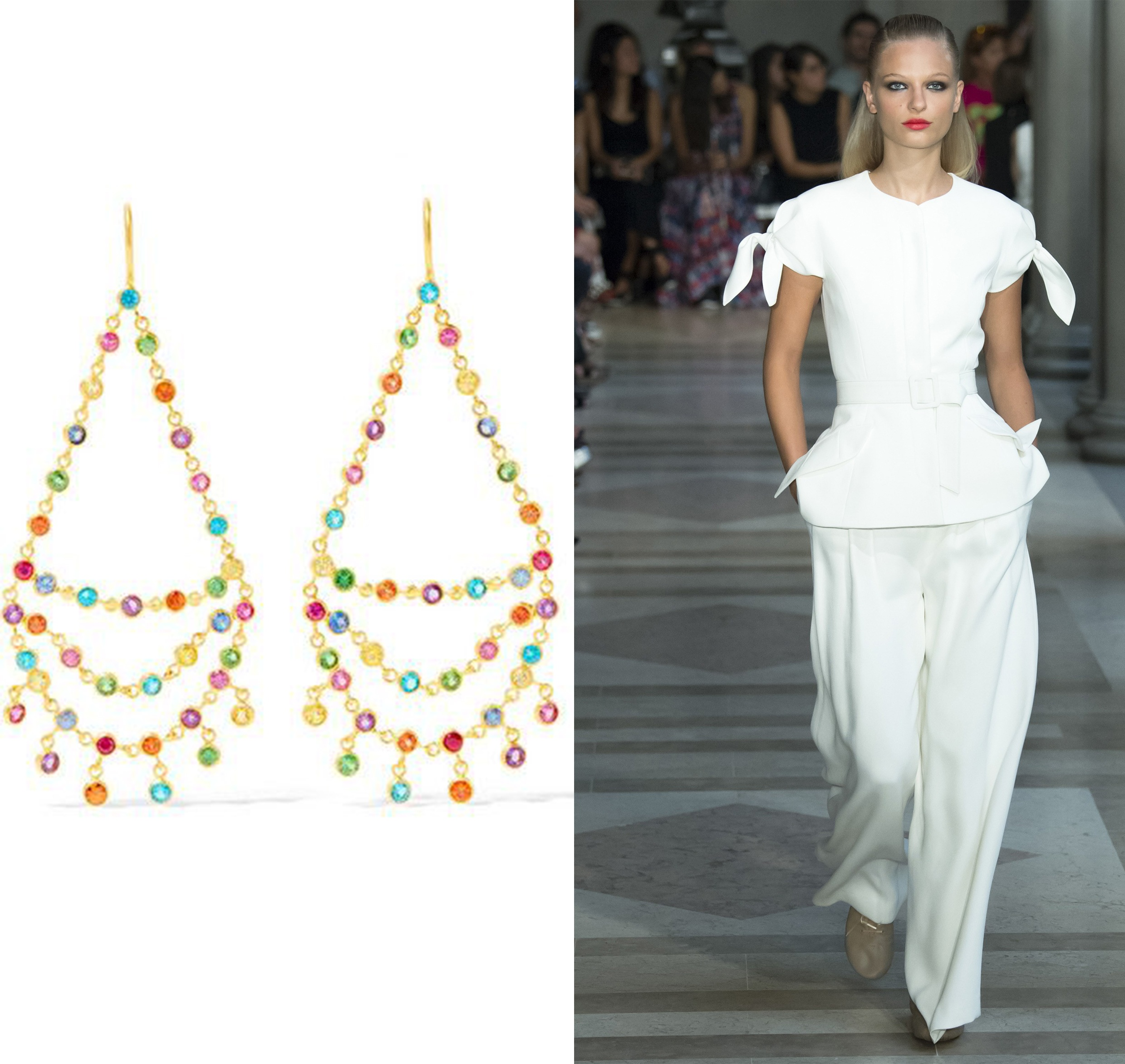 get the look: white summer
