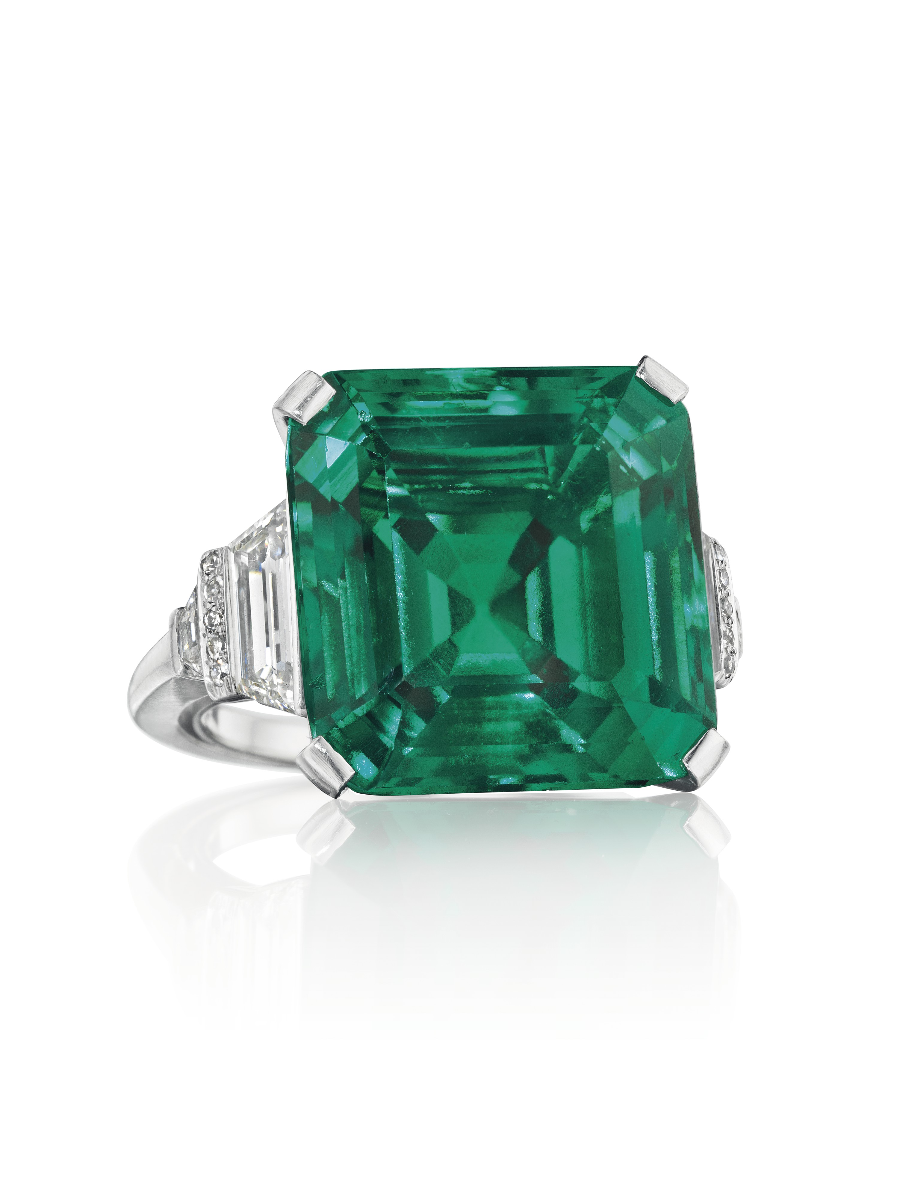 rockefeller emerald comes to auction