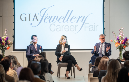huge success for gia's first london jewellery career fair