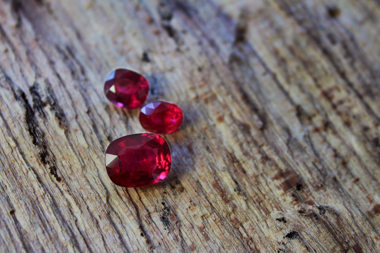 ruby for july's birthstone