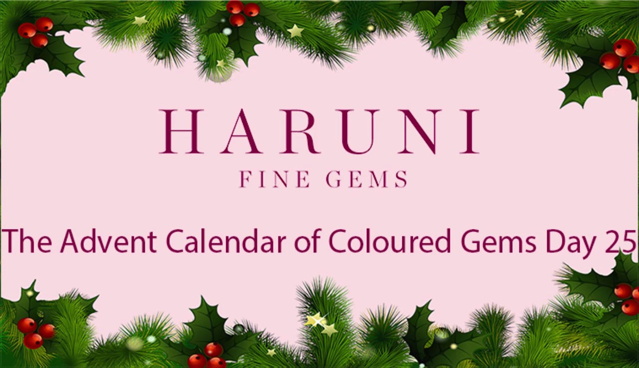 The Advent Calendar of Coloured Gems 2018